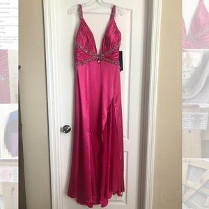 Splash prom dress. Never worn.